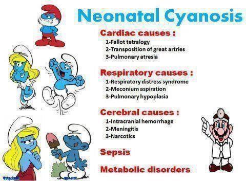 CyanoseNéonat