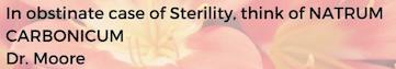 Stérility